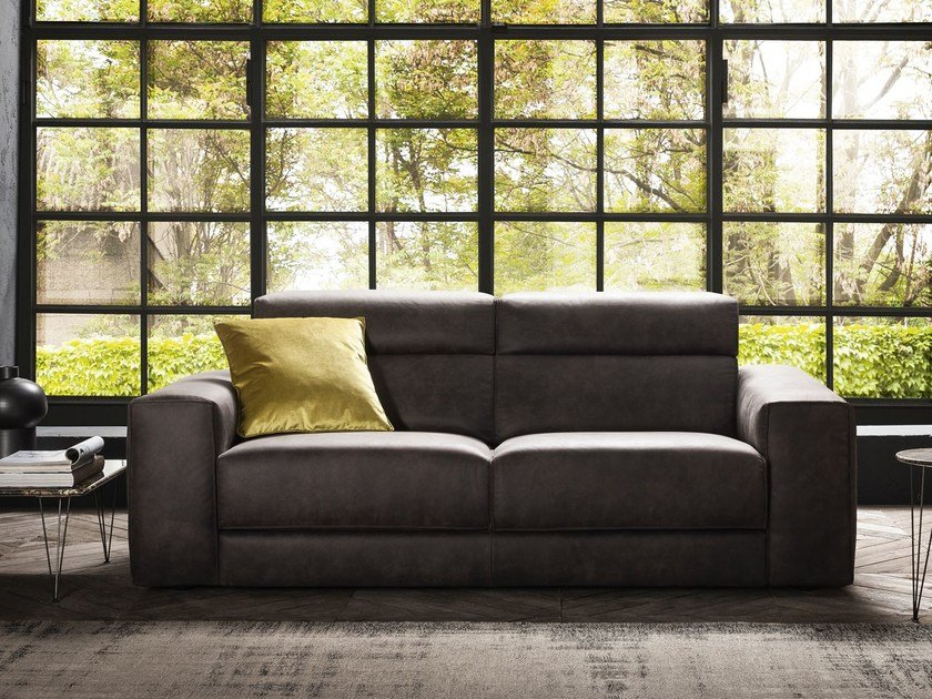 3 seater fabric sofa AJAR   3 seater sofa by Felis
