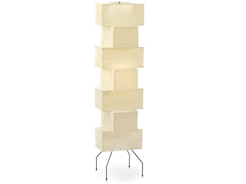 Japanese paper floor lamp AKARI UF4-L10 - Vitra