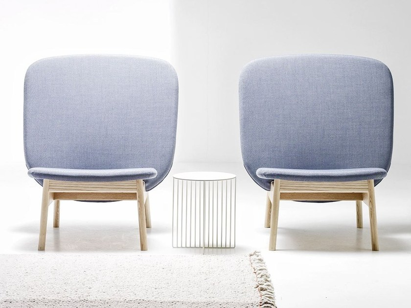 Upholstered armchair ALA | Armchair - La Cividina