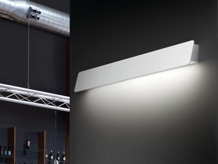 Aluminium wall lamp ALBA 60 by BOVER