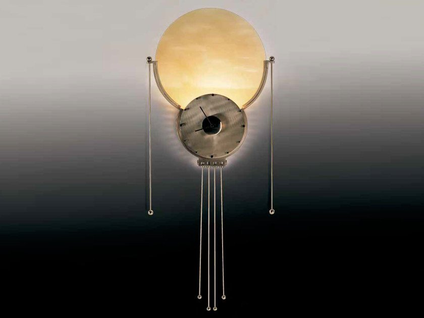 Wall lamp / clock ALBA by Mirabili