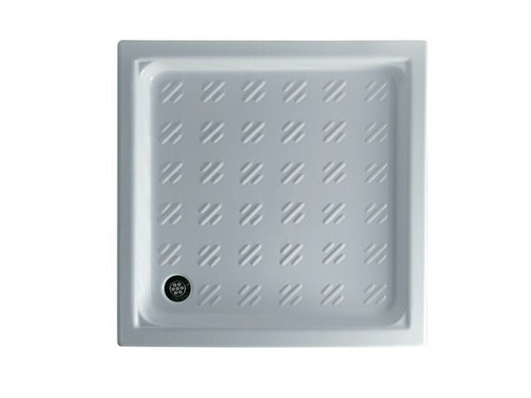 Built-in square shower tray AIRONE by GALASSIA