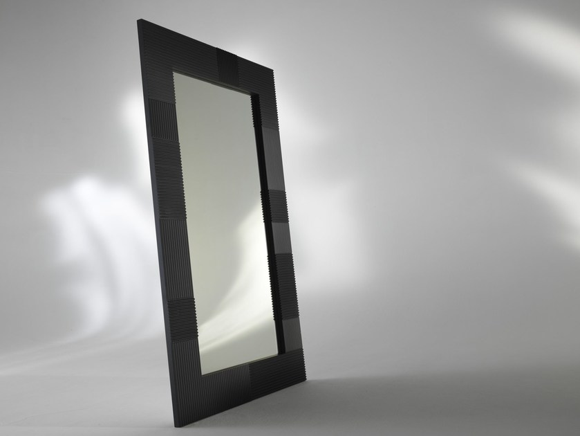 Freestanding framed mirror ALBEDO | Rectangular mirror - ALBEDO S.r.l. Unipersonale