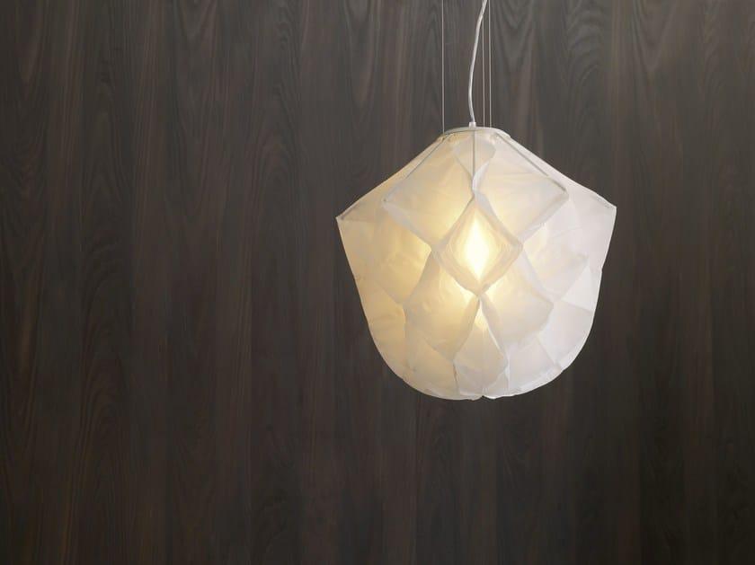Fabric pendant lamp ALBEDO Small - FontanaArte