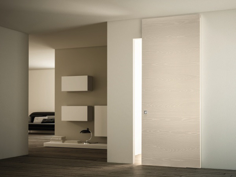 Ash sliding door without frame ALCHEMY - PIVATO