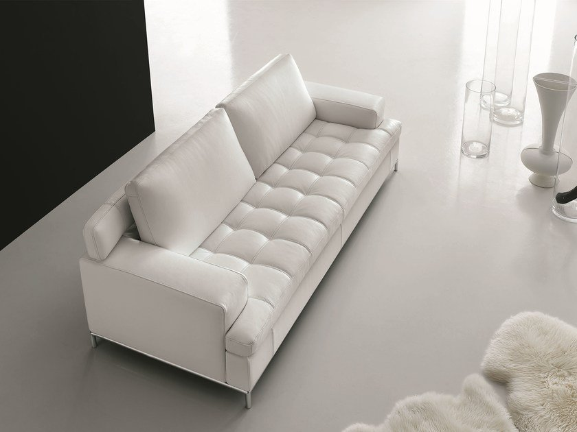 Leather sofa ALEXIA | Sofa by Egoitaliano