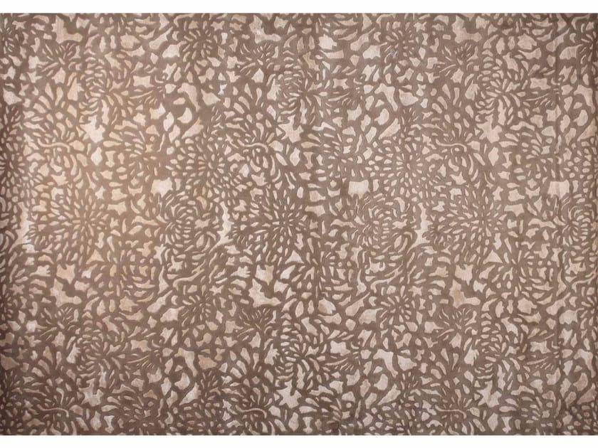 Patterned rectangular custom rug ALHAMBRA BEIGE - EDITION BOUGAINVILLE