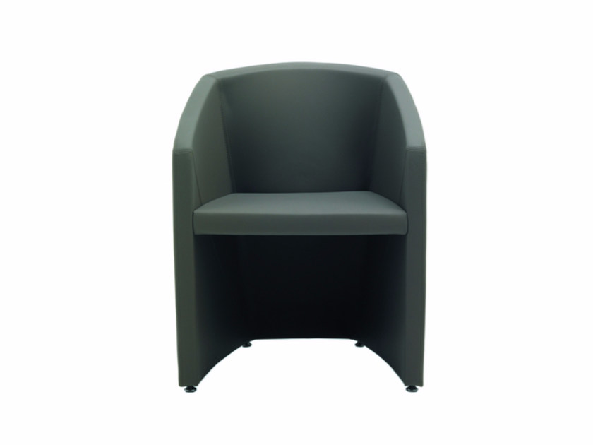 Easy chair with armrests ALIAS | Easy chair - Quadrifoglio Sistemi d'Arredo