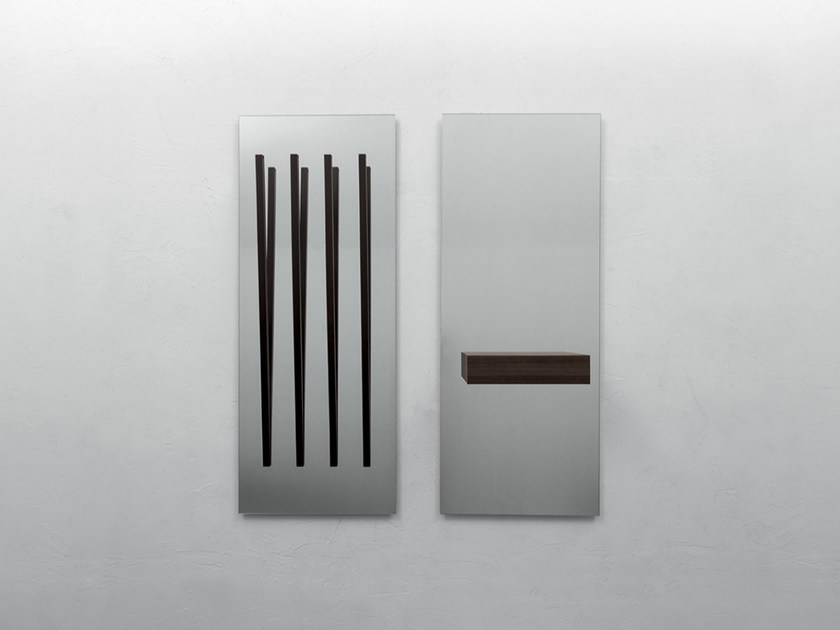 Rectangular wall-mounted mirror ALICANTE by Tonin Casa