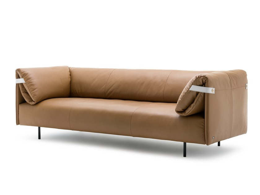 Leather sofa ALMA | Leather sofa by Rolf Benz