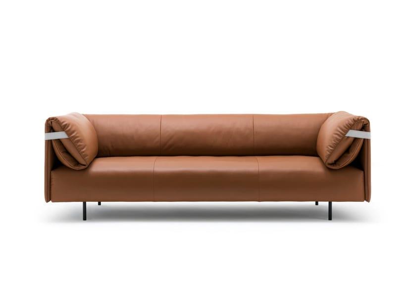 alma sofa aus leder by rolf benz design beck design. Black Bedroom Furniture Sets. Home Design Ideas
