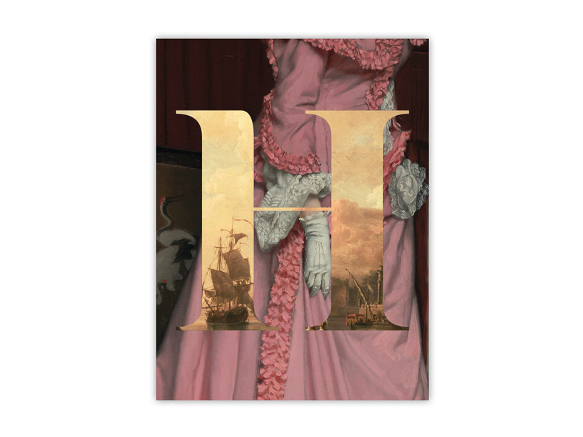 Print on paper ALPHABET H by Funky Milk