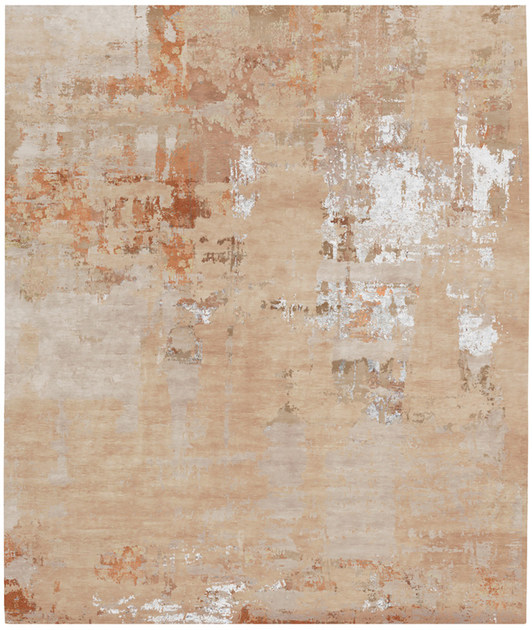 Handmade rectangular rug ALSTERMO by HENZEL STUDIO