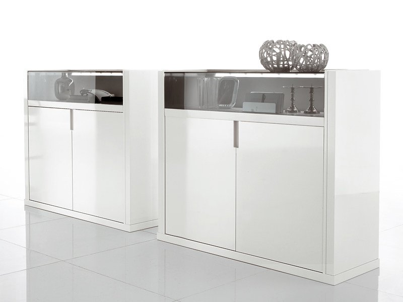 Lacquered highboard ALTEA | Lacquered highboard by ALIVAR
