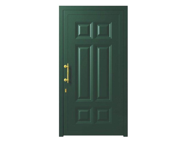 Door panel for outdoor use ALU CLASSIC ALGENIB K - Metalnova