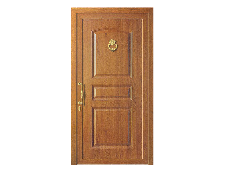 Door panel for outdoor use ALU CLASSIC AURIGAK LEGNO - Metalnova