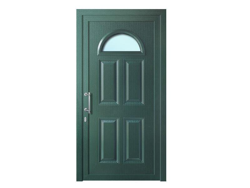 Door panel for outdoor use ALU CLASSIC BELLATRIX K1 LEGNO by Metalnova