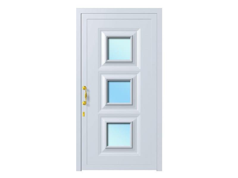 Door panel for outdoor use ALU CLASSIC IRIS K3 - Metalnova