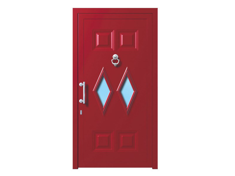 Door panel for outdoor use ALU CLASSIC MIZAR K2 - Metalnova