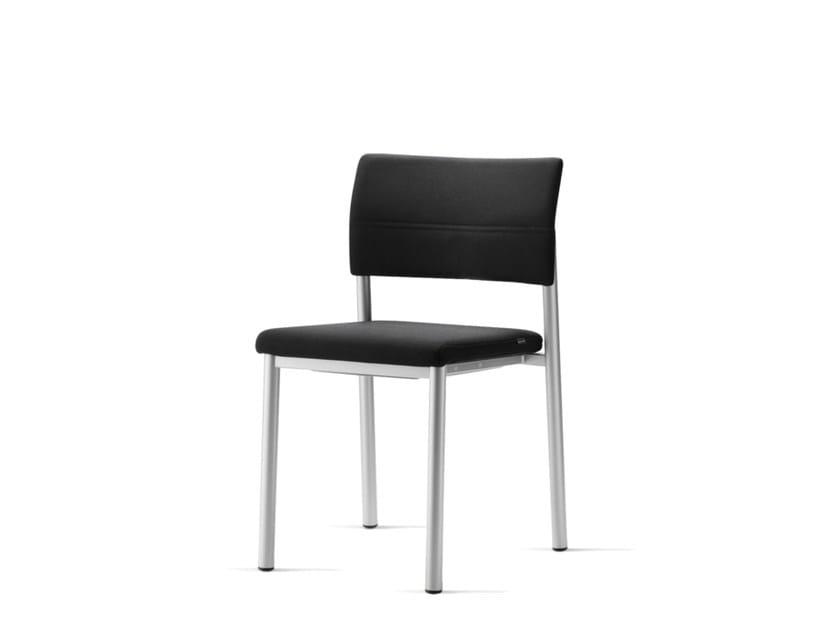 Sedia impilabile in tessuto ALUFORM_3 | Sedia - Wiesner-Hager