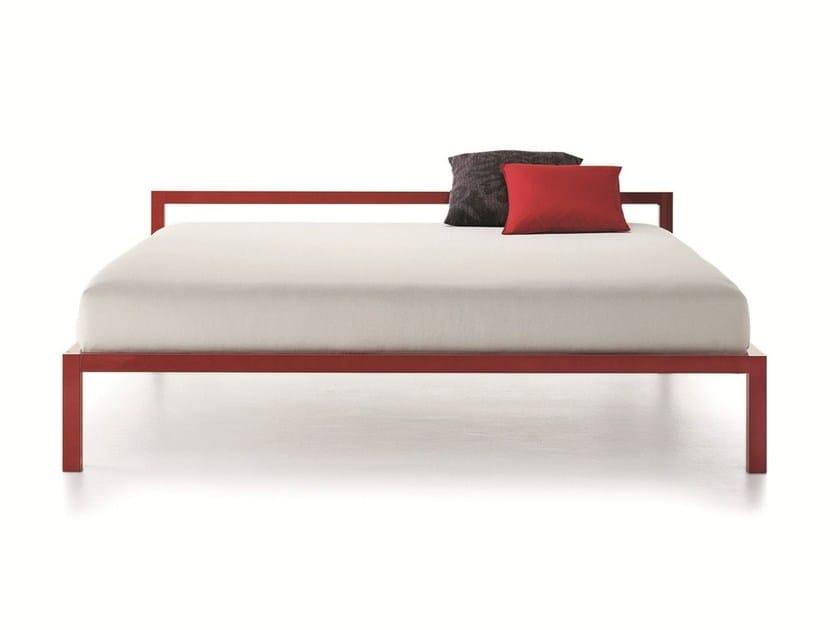 Aluminium double bed ALUMINIUM BED | Double bed - MDF Italia