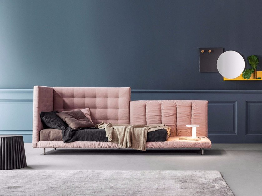 Tufted upholstered sofa bed ALVAR | Sofa bed - Bonaldo