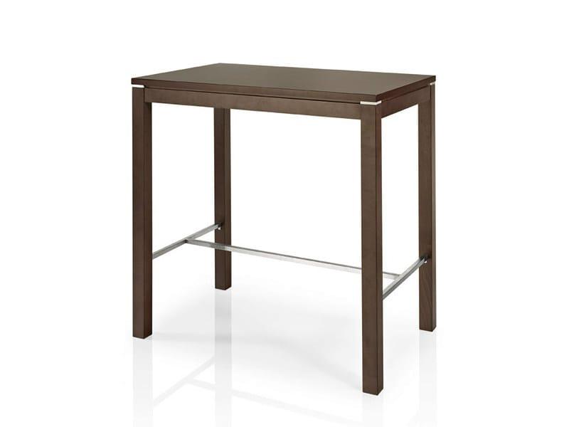 Rectangular high table ALVITO | High table - J. MOREIRA DA SILVA & FILHOS, SA