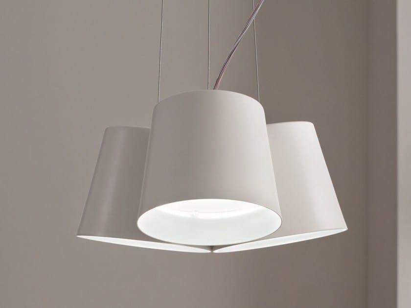 LED aluminium pendant lamp AMAK | Pendant lamp - LUCENTE - Gruppo Rostirolla