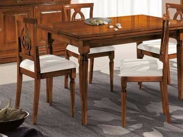 Solid wood chair AMALFI | Chair - Arvestyle