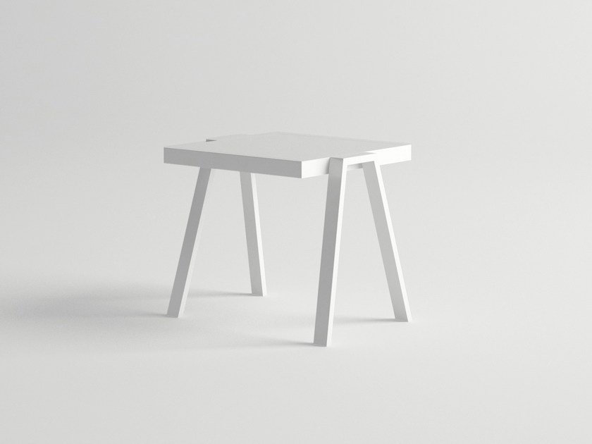 Aluminium side table AMELIA | Side table - 10Deka