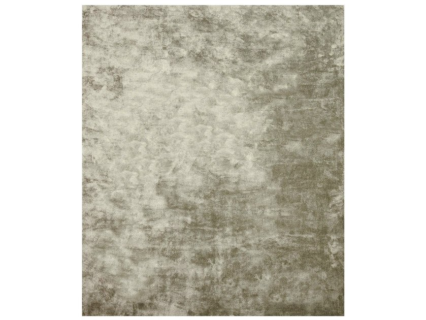 Handmade rectangular rug AMITON - HENZEL STUDIO