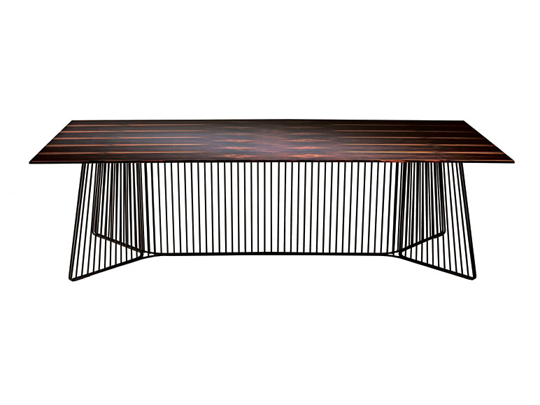 Wooden table ANAPO by Driade