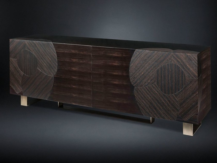 Ebony sideboard with doors ANDY | Sideboard by VGnewtrend