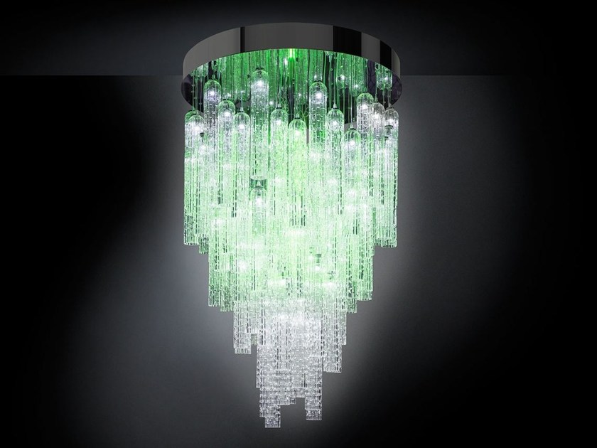 LED Murano glass pendant lamp ANDY | Pendant lamp - VGnewtrend