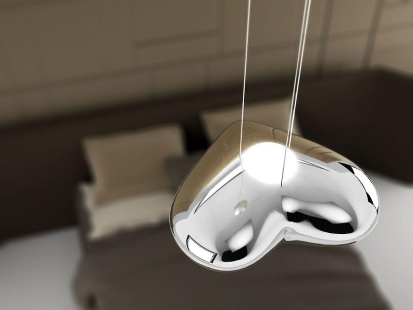 LED fiberglass pendant lamp ANGEL SWEET LAMP - Paolo Castelli