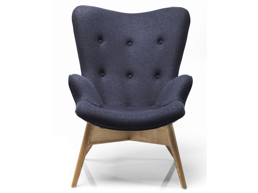 Wool armchair with armrests ANGELS WINGS ECO | Wool armchair - KARE-DESIGN
