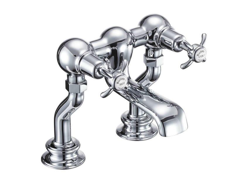2 hole chromed brass bathtub tap ANGLESEY REGENT | 2 hole bathtub tap - Polo