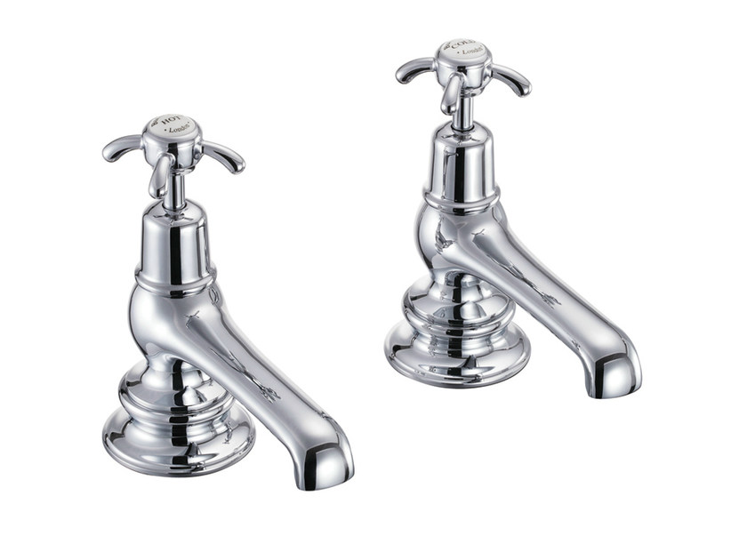 Chromed brass bathtub tap with aerator ANGLESEY REGENT | Bathtub tap by Polo