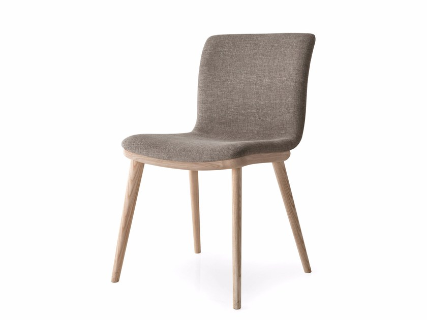 Upholstered fabric chair ANNIE | Fabric chair - Calligaris
