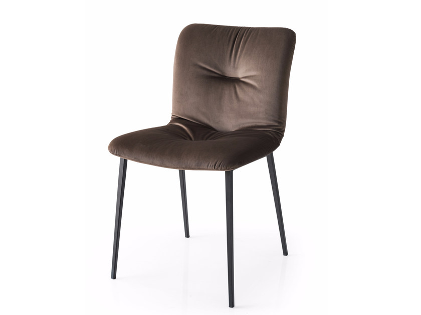 upholstered fabric chair annie soft by calligaris design edi e paolo ciani design. Black Bedroom Furniture Sets. Home Design Ideas