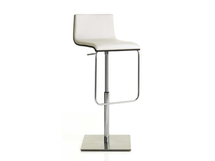 Height-adjustable upholstered stool ANOUK | Height-adjustable stool by ALMA DESIGN