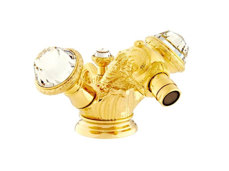 1 hole bidet tap with Swarovski® crystals ANTARTICA | 1 hole bidet tap - Bronces Mestre