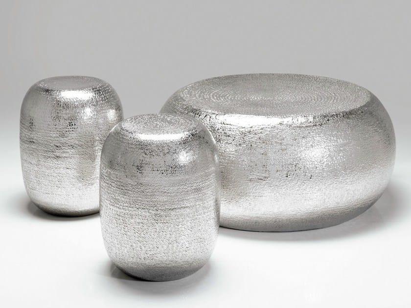 Aluminium stool / coffee table ANTICO - KARE-DESIGN