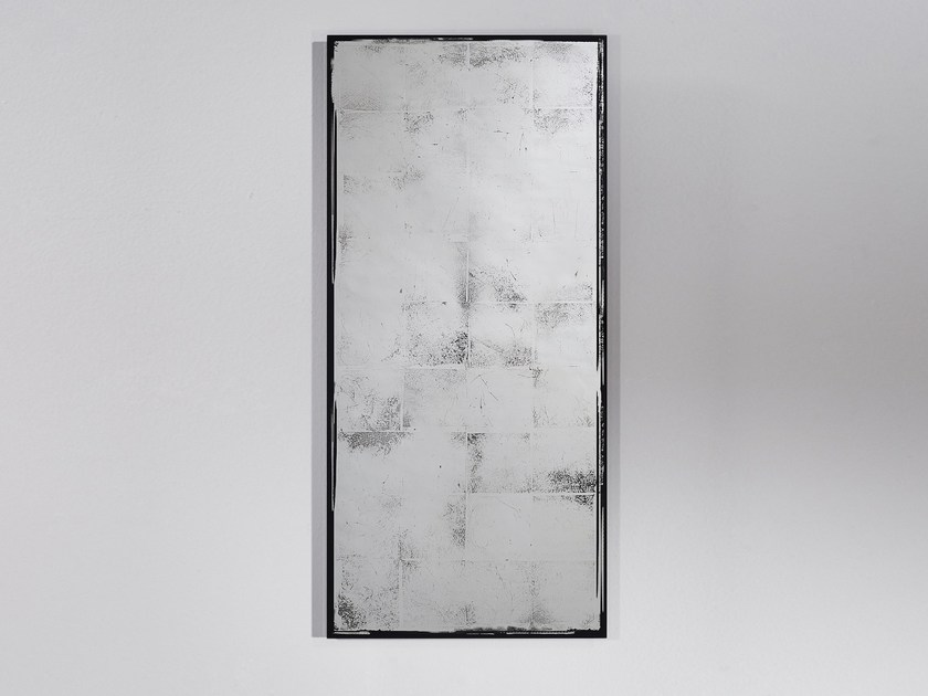 Contemporary style ecologic rectangular wall-mounted mirror ANTIQUE - DEKNUDT MIRRORS