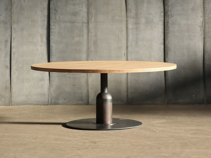 Round custom table APOLLO XXL - Heerenhuis
