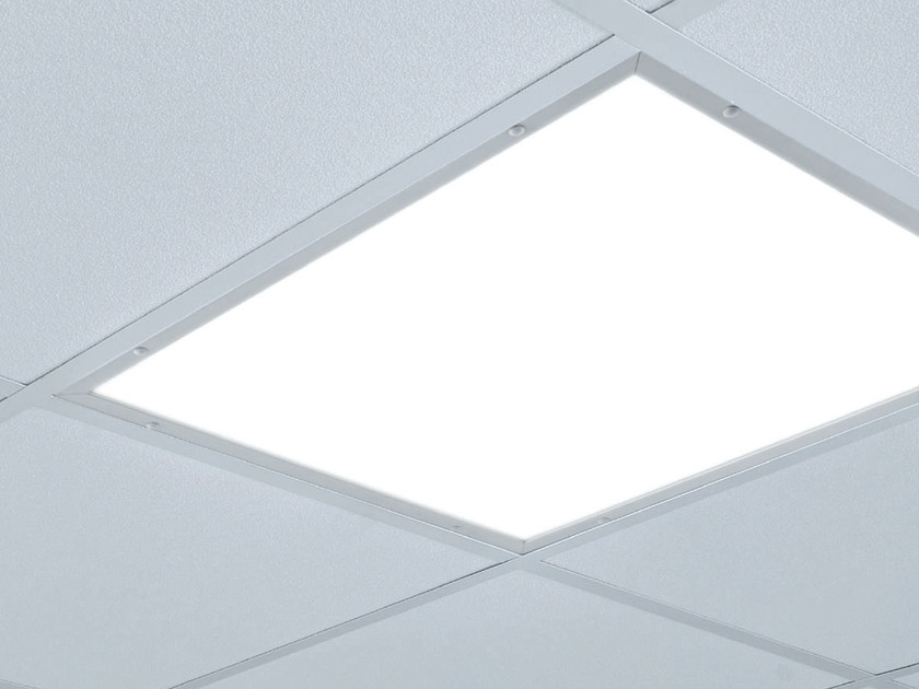 LED direct light acrylic glass Lamp for false ceiling APTEKA by PLEXIFORM