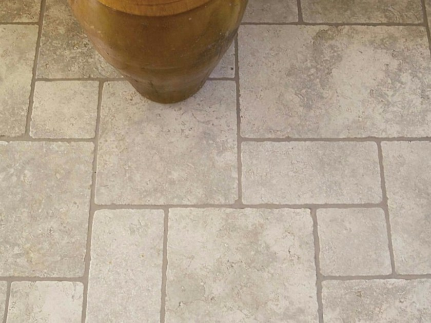 Stone flooring APULIA STONE - OPUS ROMANO - Lithos Mosaico Italia - Lithos