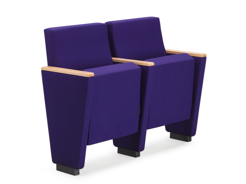 Fabric auditorium seats ARAN 580 - TALIN
