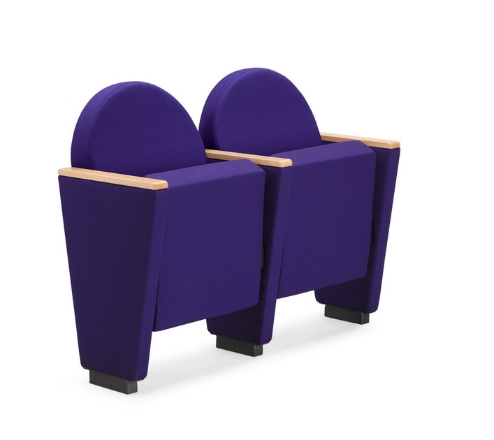 Fabric auditorium seats ARAN 581 - TALIN