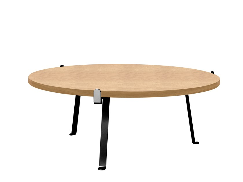 Round coffee table ARCH | Coffee table by Novel Cabinet Makers